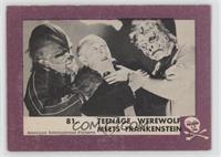 Teenage Werewolf Meets Frankenstein [GoodtoVG‑EX]