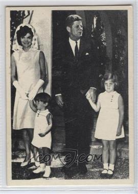 1964 Topps The Story of John F. Kennedy #2 - John F. Kennedy, Jackie Kennedy