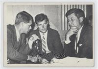 John F. Kennedy, Robert Kennedy, Edward Kennedy [Good to VG‑EX]