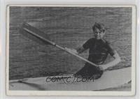 Robert F. Kennedy (Senator Robert F. Kennedy finishes a 15 mile kayak trip...) …