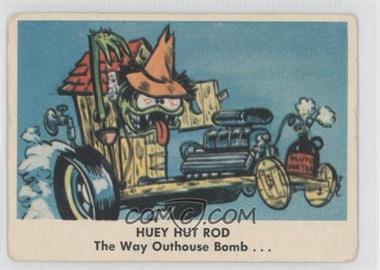 1965 Fleer Weird-ohs - [Base] #2 - Huey Hut Rod [GoodtoVG‑EX]