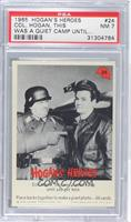 Col. Hogan, this was a quiet camp [PSA 7]
