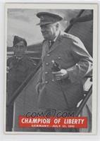 Champion of Liberty, Winston Churchill
