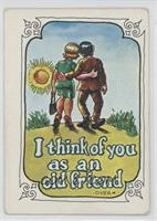 I think of you as an old friend [Good to VG‑EX]