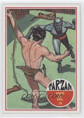 1966 Philadelphia Tarzan - [Base] #19 - Good vs. Evil