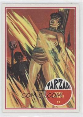1966 Philadelphia Tarzan #17 - Fiery Finish?