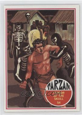 1966 Philadelphia Tarzan #54 - Terror of the skull