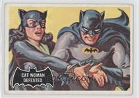 Cat Woman Defeated [Poor to Fair]