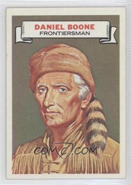 1967 Topps Who am I? - [Base] #36 - Daniel Boone