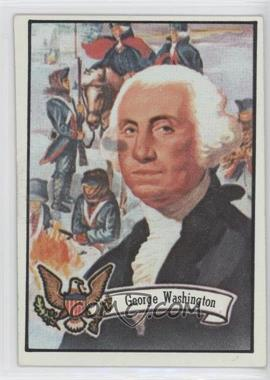 1972 Topps U.S. Presidents - [Base] #1 - George Washington