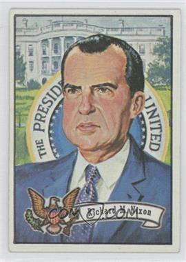 1972 Topps U.S. Presidents - [Base] #36 - Richard Nixon