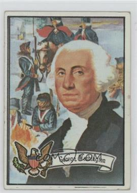 1972 Topps U.S. Presidents #1 - George Washington