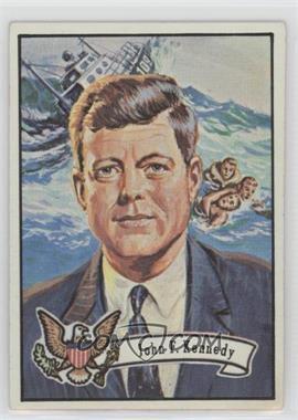1972 Topps U.S. Presidents #34 - John F. Kennedy