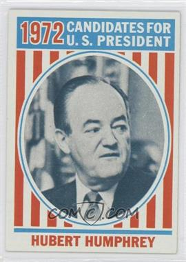 1972 Topps U.S. Presidents #38 - Hubert Humphrey