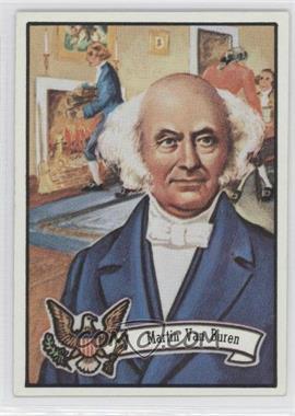 1972 Topps U.S. Presidents #8 - Martin Van Buren
