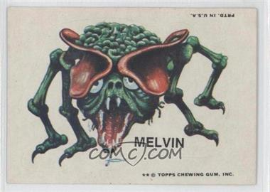 1973-74 Topps Ugly Stickers #MELV - Melvin