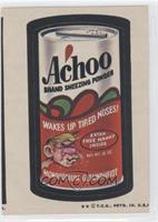 Achoo [GoodtoVG‑EX]