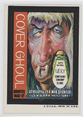 1973-74 Topps Wacky Packages Series 5 #N/A - Cover Ghoul