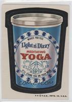 Meditating Yoga