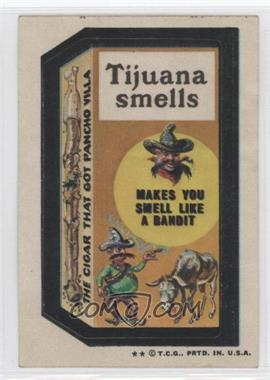 1973-74 Topps Wacky Packages Series 5 #N/A - Tijuana Smells