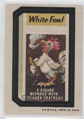 1973-74 Topps Wacky Packages Series 5 #N/A - White Fowl