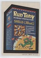 Run Tony Rubout Protection