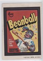 Beanball Bubble Gum