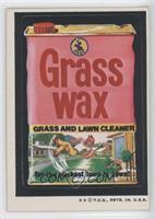 Grass Wax