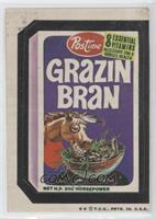 Grazin Bran [Good to VG‑EX]