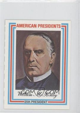 1974 Panographics American Presidents #25 - William McKinley