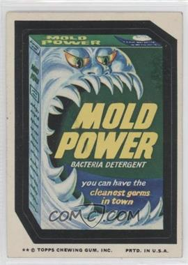 1974 Topps Wacky Packages Series 10 - [Base] #MOLD - Mold Power