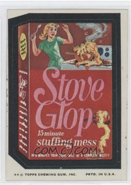 1974 Topps Wacky Packages Series 10 - [Base] #STOV - Stove Glop