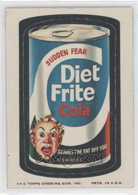 1974 Topps Wacky Packages Series 10 #DIET - Diet Frite Cola