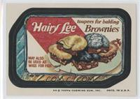 Hairy Lee Brownies