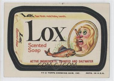 1974 Topps Wacky Packages Series 10 #LOX - Lox