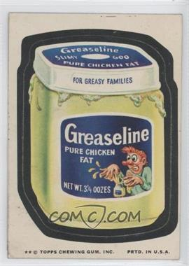 1974 Topps Wacky Packages Series 10 #N/A - Greaseline