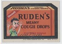 Ruden's Meany Cough Drops [GoodtoVG‑EX]