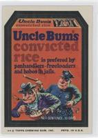 Uncle Bum's Convicted Rice