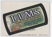 Dums [GoodtoVG‑EX]