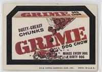Grime (Dusty-Greasy Chunks)