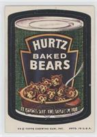 Hurtz Baked Bears [Good to VG‑EX]