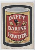 Daffy Baking Powder [GoodtoVG‑EX]