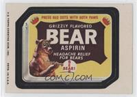 Bear Aspirin