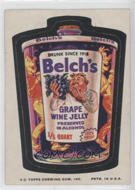 1974 Topps Wacky Packages Series 9 - [Base] #BELC - Belch's