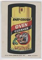 Easy-Cough Oven Cleaner