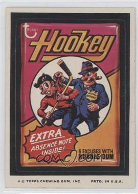 1974 Topps Wacky Packages Series 9 - [Base] #HOOK - Hookey