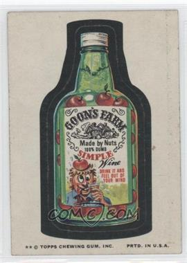 1974 Topps Wacky Packages Series 9 #9 - Goon's Farm [Good to VG‑EX]