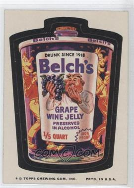 1974 Topps Wacky Packages Series 9 #BELC - Belch's