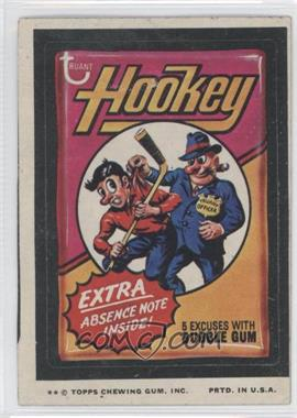 1974 Topps Wacky Packages Series 9 #HOOK - Hookey [Good to VG‑EX]