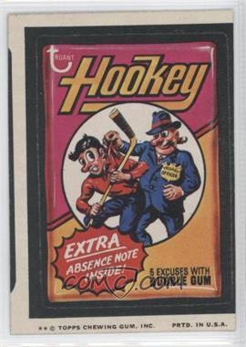 1974 Topps Wacky Packages Series 9 #HOOK - Hookey
